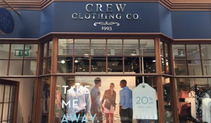 Crew Morpeth Shopfront